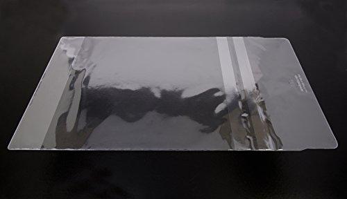 100 x tascabile in plastica trasparente, 280 mm & a M.