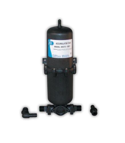 Jabsco 30573-0000 Marine Pressurized Water Accumulator Tank with Bladder (1-Liter)