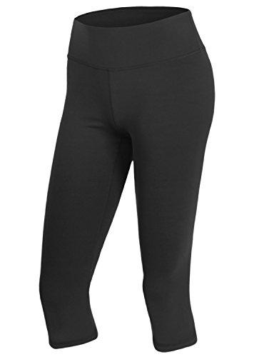 Yoga Reflex - Leggings sportivi - Pantaloni  -  donna CWBMP05_Black_HIGH RISE X-Small