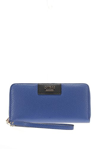 PORTAFOGLIO DONNA BOBBI SLG LARGE ZIP AROUND GUESS ART SWVG64 22460 CMU COLORE COBALT MULTI (cobald multi)