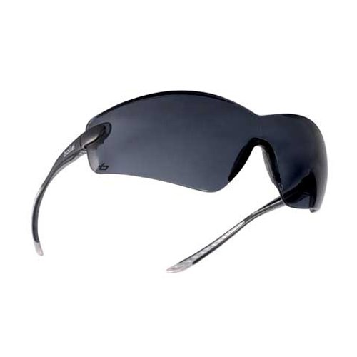 Bollé Safety 253-Cb-40038 Cobra Safety Eyewear With Rimless Frame And Smoke Anti-Fog Lens, 180-Pair