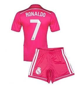 Youth Ronaldo #7 Real Madrid Away Soccer Jersey - size Youth Small 6-8 y.o