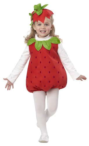 California Costumes Strawberry Girl Infant Romper Costume
