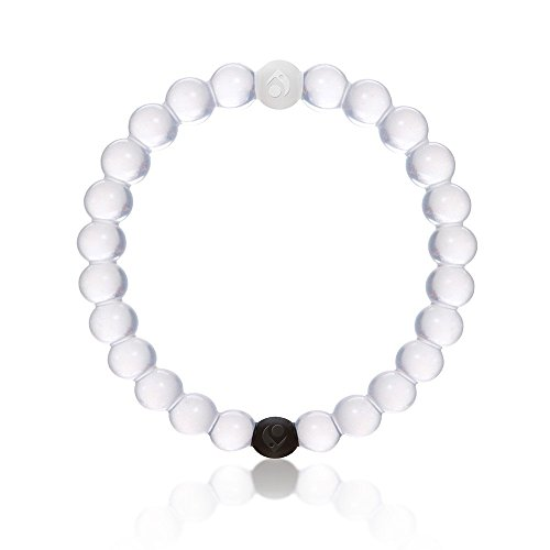 Lokai Bracelet Mud From Dead Sea - Water From MT EVEREST White High Quality