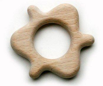 歯固めおしゃぶりおむすびころりん  安全安心木のおもちゃ 見て触れて遊んで下さい。出産お祝いにもgood♪ はがため 歯がため 歯固め