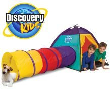 Discovery Kids 2-Piece Adventure Play Tent front-319274