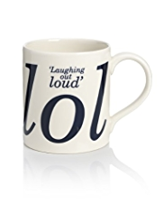 Laughing Out Loud Mug
