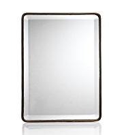 Decorative Metal Standing Mirror