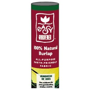Easy Gardener 3102 Natural Burlap - 3-Foot x 48-Foot