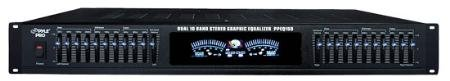 1Ru Rack Mount Stereo 10 Channel Equalizer With Headphones