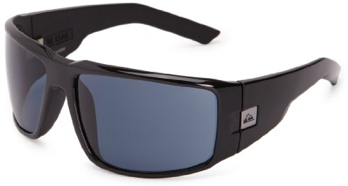 QUIKSILVER Slab Men's Sunglasses Black/Grey One Size