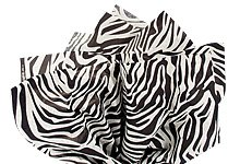 "Black & White Zebra Tissue Paper - 20"" X 30"" - 48 Xl Sheets front-949760"