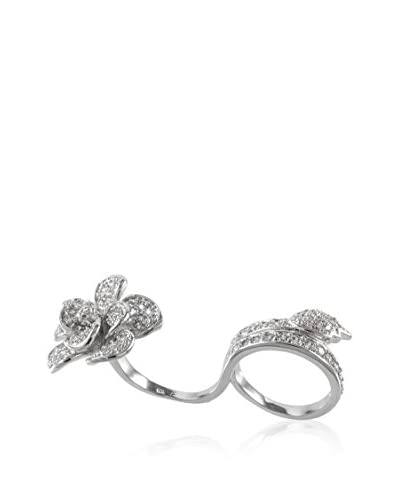 CZ BY KENNETH JAY LANE Anillo Flower