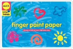 314iE0Ibx8L Reviews Alex Toys Finger Paint Paper 12X18 Glossy 50 Sheets/Pad 275W; 2 Items/Order