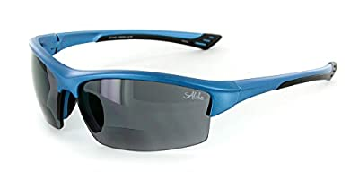 "Aloha Eyewear ""Stone Creek MX1"" Men's Wrap-Around Bifocal Reading Sunglasses"