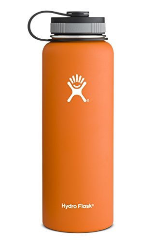 Hydro Flask Insulated Stainless Steel Water Bottle, Orange Zest, 40-Ounce (Kleen Kanteen Insulates compare prices)