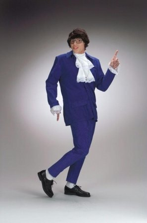 Costumes For All Occasions Dg5428 Austin Powers Costume Deluxe