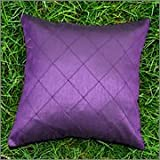 Cushion Casa Cushion Covers (Purple) - B00NMC791Q
