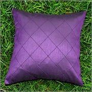 Cushion Casa Cushion Covers (Purple) - B00NMC791Q