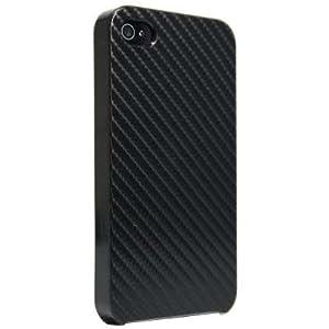 Slabo Case Schutzhülle für Apple iPhone 4s | iPhone 4 - CARBON Optik