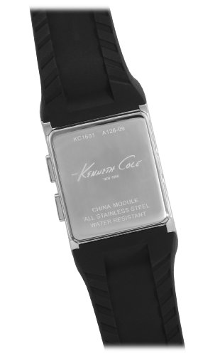 Kenneth Cole New York Men's KC1601 Casual Quartz Digital Polyurethane Watch