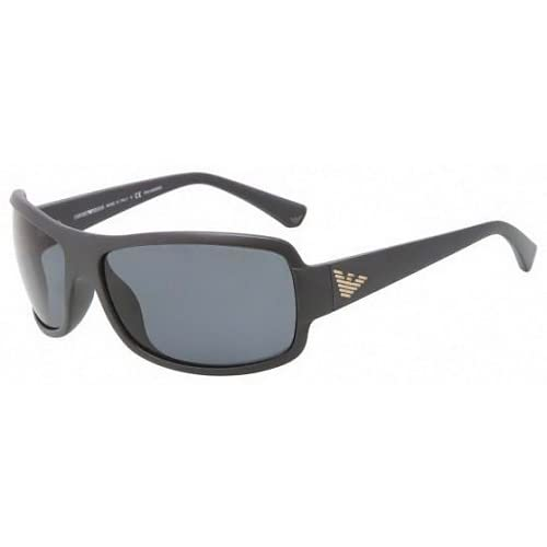 Emporio Armani 4012 506081 Grey 4012 Wrap Sunglasses Polarised Lens Category 3