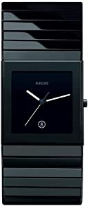 RADO CERAMICA XL R21716152 GENTS BLACK CERAMIC CERAMIC CASE DATE WATCH
