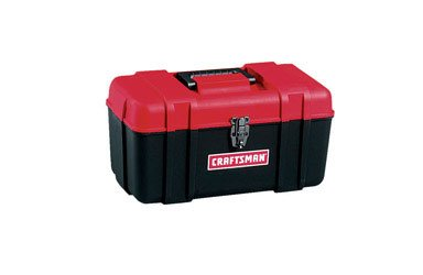 """Craftsman 17"""" Plastic Hand Tool Box - Lightweight And Durable front-532160"""
