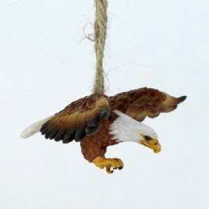 #!Cheap RESIN EAGLE ORNAMENT - Christmas Ornament