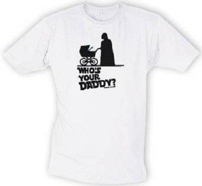 STAR WARS T-shirt Who' s your Daddy? In taglia XXL 2X L