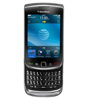Blackberry 9800 Torch Unlocked Slider Qwerty