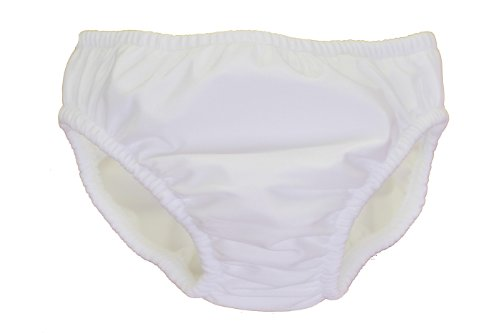 My Pool Pal Reusable Swim Diaper, White, 18 Months - 1
