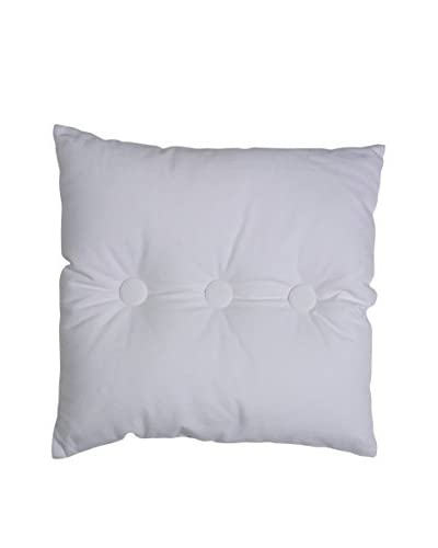 Lene Bjerre Anthea Tufted White Throw Pillow
