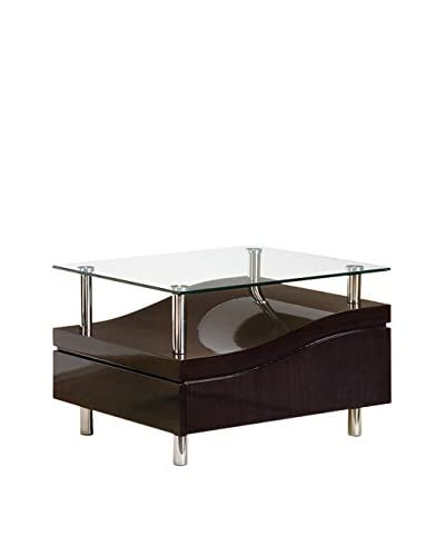 Luxury Home End Table, Wenge
