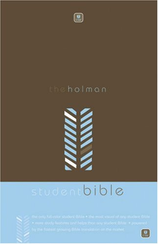 Holman CSB Student Bible, Brown/Blue