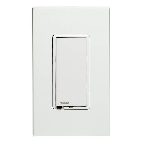 Leviton Tti06-1Lz, True Touch Preset Digital 600W Incandescent Dimmer, Single Pole And 3-Way, White/Ivory/Light Almond