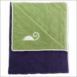 Maclaren Kate Spade Blanket in Twilight Blue by Maclaren