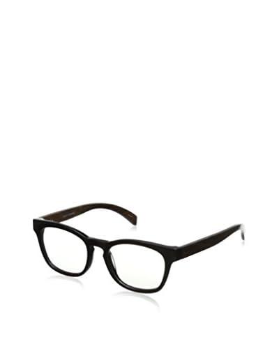Ivory + Mason Men's Bond Eyewear, Shiny Black + Walnut