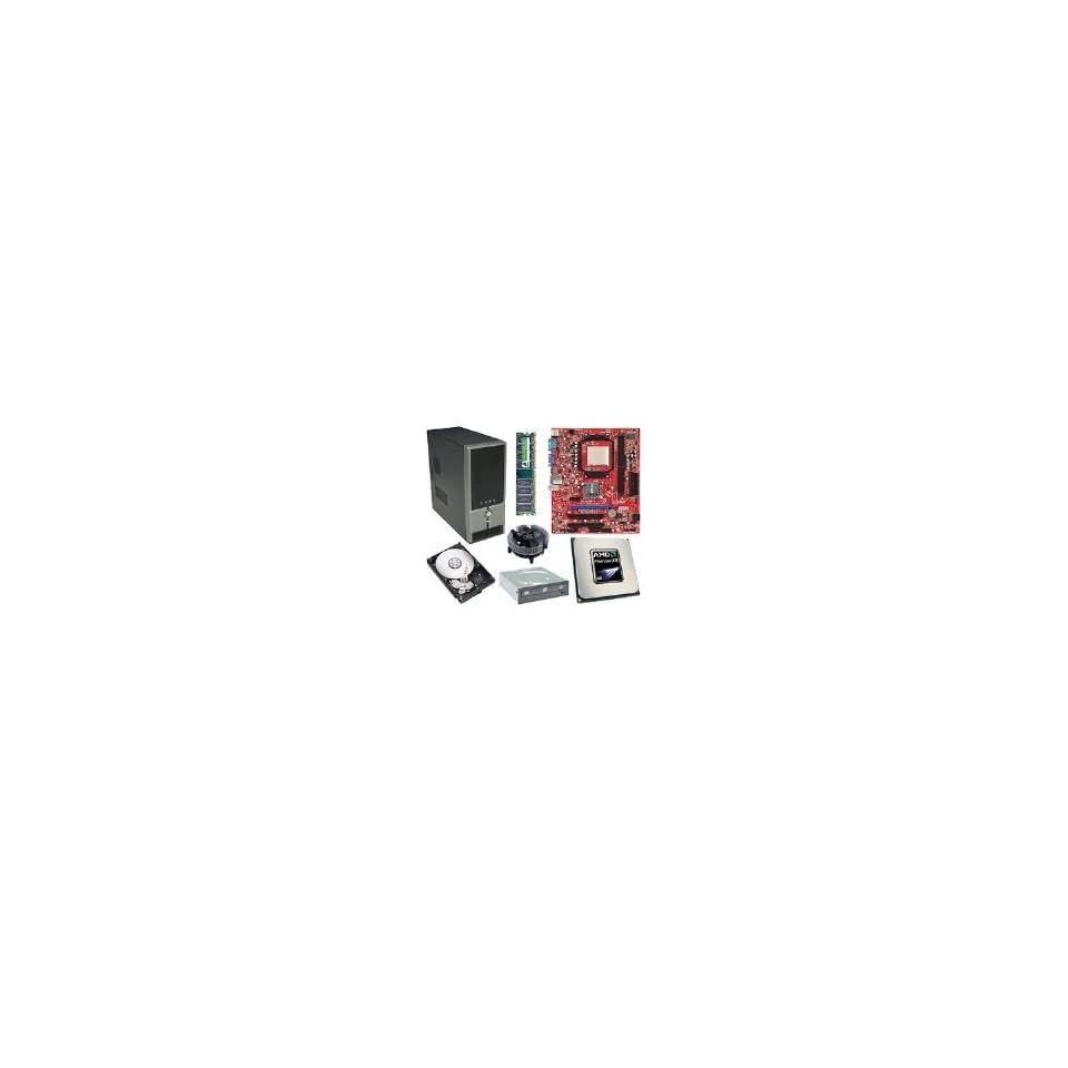 MSI K9N6PGM2 V2 Quad Core Barebones Kit