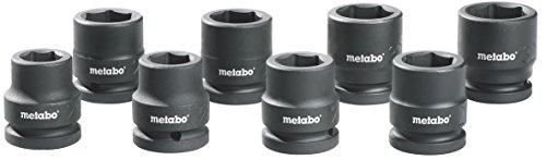Metabo-Schlagschrauber-Steckschlsselsatz-34-Zoll-8-teilig-628834000