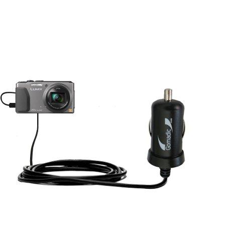 Intelligentes 2A / 10W Kompakt-Ladegerät DC kompatibel mit Panasonic Lumix DMC-ZS30S mit TipExchange Technologie