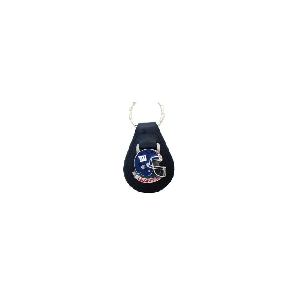 New York Giants NFL Small Leather Key Ring
