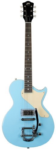 Axl Al-1055-Cb Usa Belair Solid-Body Electric Guitar, Light Blue