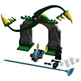 Game / Play LEGO Chima 70109 Whirling Vines Gate With Spinning Fangs Measures Over 7 High 7 Wide & 2 Deep Toy...