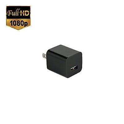 SpygearGadgets® 1080P HD Mini USB Wall Charger Hidden Spy Camera / Nanny Cam | 32GB Internal Memory | 1 Year Warranty (Model SG-HC240)