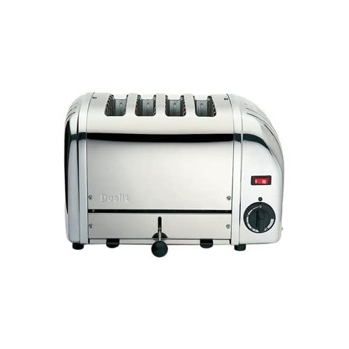 Dualit Stainless Plus 4 Slot Toast   Toaster - high quality and heavy duty kitchen appliances