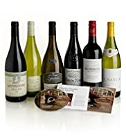 Classic French Regions Wine Tasting Gift Box - 6 Wines, DVD & Guide