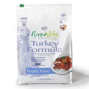 Pure Vita Turkey Dry Dog Food-5Lb-
