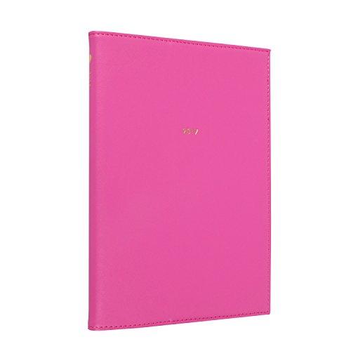 モーメントプランナー グリーティングライフ 手帳 2017 A5 バーチカル ウィークリー D-595-HT For Woman ピンク