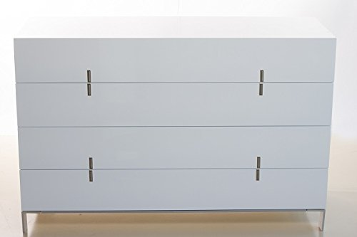 BLAZE Modern/Contemporary Dresser Glossy White